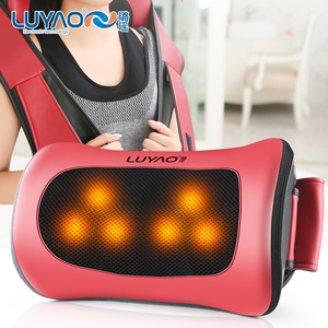 LY-597A Car home shiatsu shoulder neck pillow massager with heat