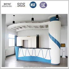 Direct factory modified acrylic solid surface sheet for countertop acrylic solid surface machine
