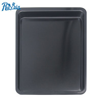 2018 Hot selling cake tools square shape Carbon steel oven baking pan tray