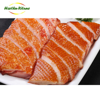 High standard in quality IQF frozen halal smoked steamed duck breast slice