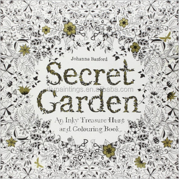 2016 New Product Secret Garden Enchanted Forest Coloring Book
