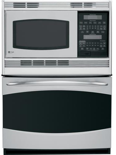 """GE PT970SRSS Profile 30"""" Stainless Steel Electric Combination Wall Oven - Convection"""