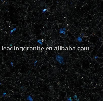 blue in the night granite tile