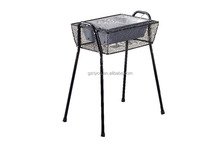 New product security stainless steel charcoal grill for camping