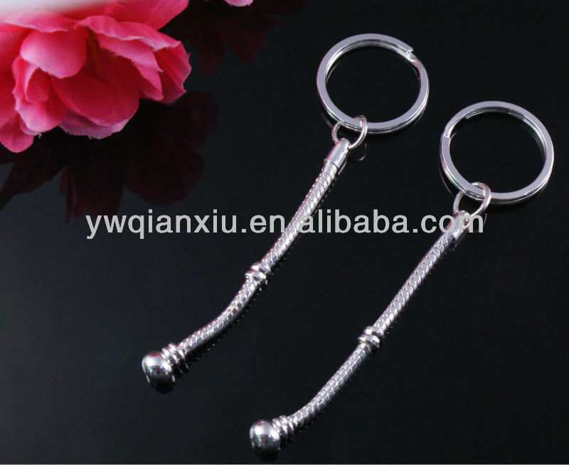 Fashional key chain style alloy jewelry parts