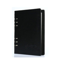 Wholesale korean design stationery, A5 ancient hardcover spiral journal PU Leather notebook