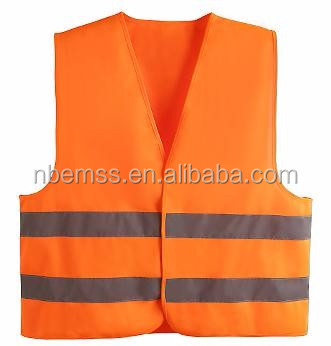 factory price supply safty cheap reflective vest for running or cycling