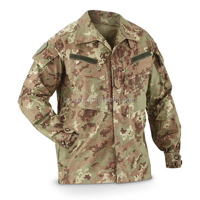 China Xinxing Military Tactical Clothing TC6535 Italy Camouflage ACU Uniform