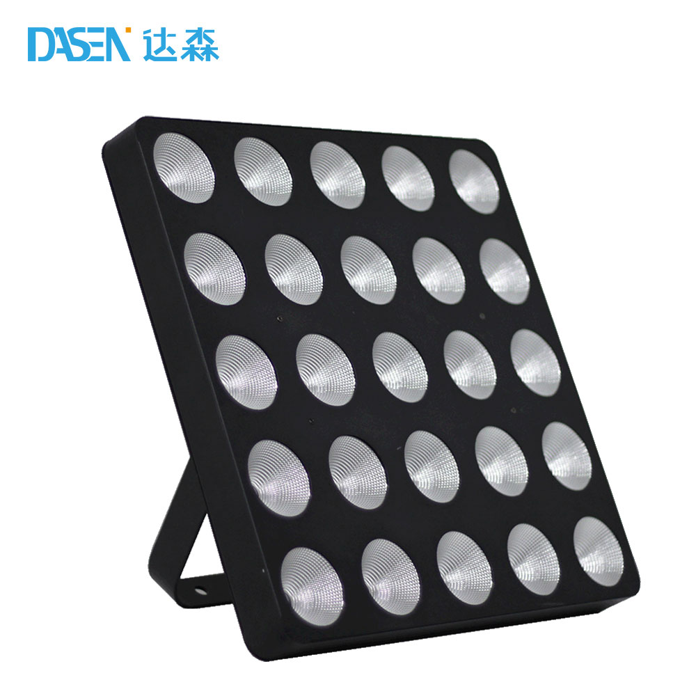 MYLED-060B 25pcs 3W LED Matrix Beam Blinder Light/Led Stage Light Led Tv Matrix Price