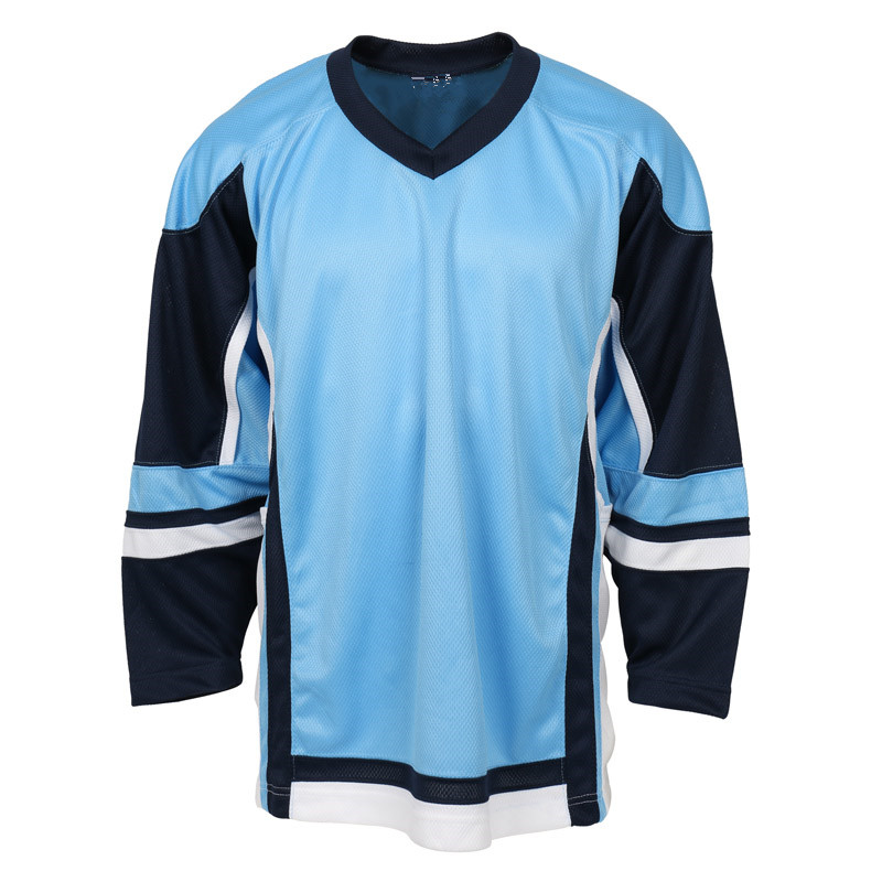 White Blank Plain Design Ice Hockey Jersey wear apparel On Sale ... a759d392fbf
