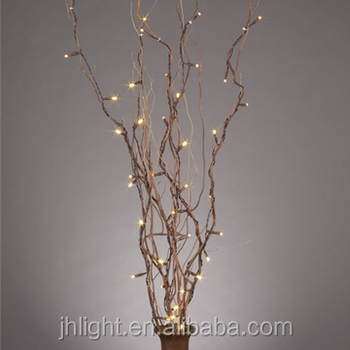 Lighted Natural Willow Branches,39 Inches,Battery Op.,Timer,5 Twigs Home  Decor - Buy Battery Operated Lighted Branches,Lighted Natural Willow Branch  ...
