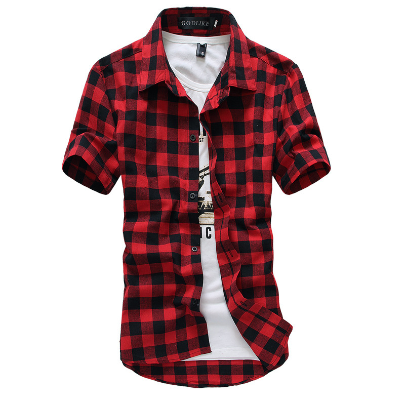 Free shipping BOTH ways on mens red and black plaid shirt, from our vast selection of styles. Fast delivery, and 24/7/ real-person service with .