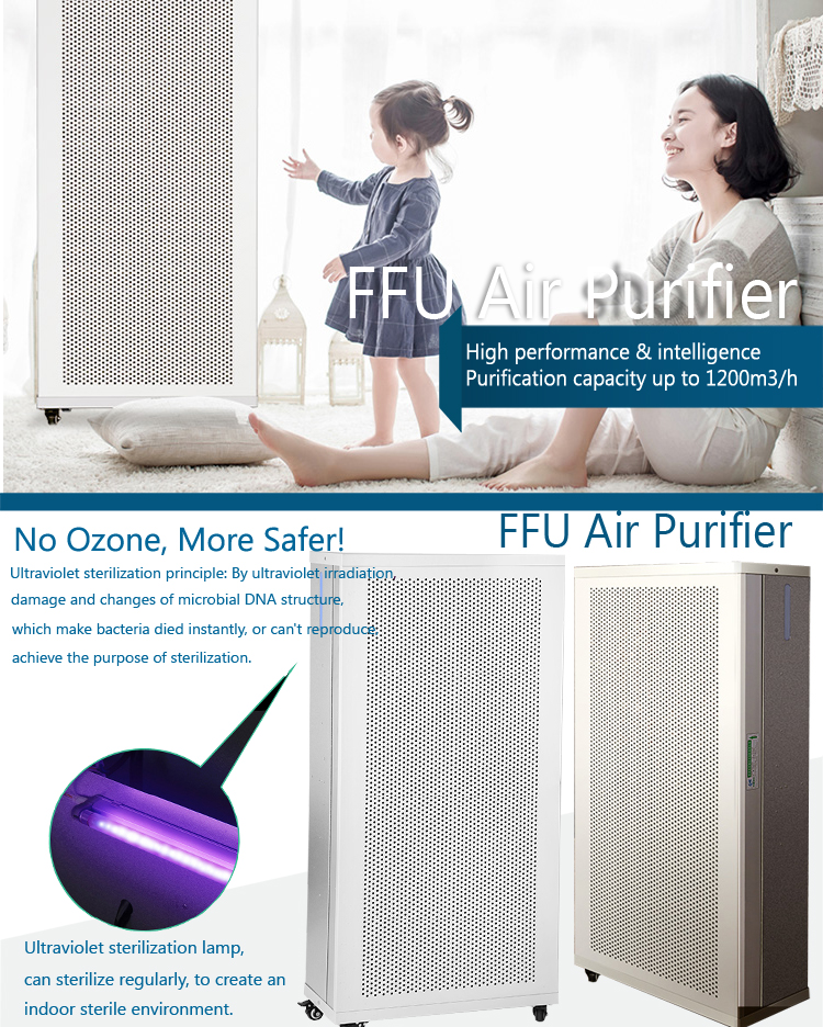 Hot sale durable smelly cleaning fan coil unit filter wholesale
