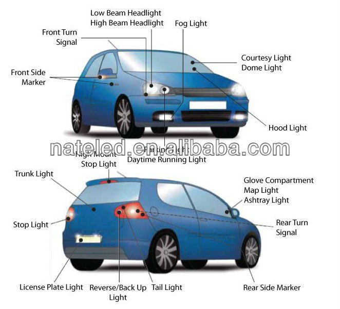 Diagram Of Lights On Back Of Car   Schematic Diagram on