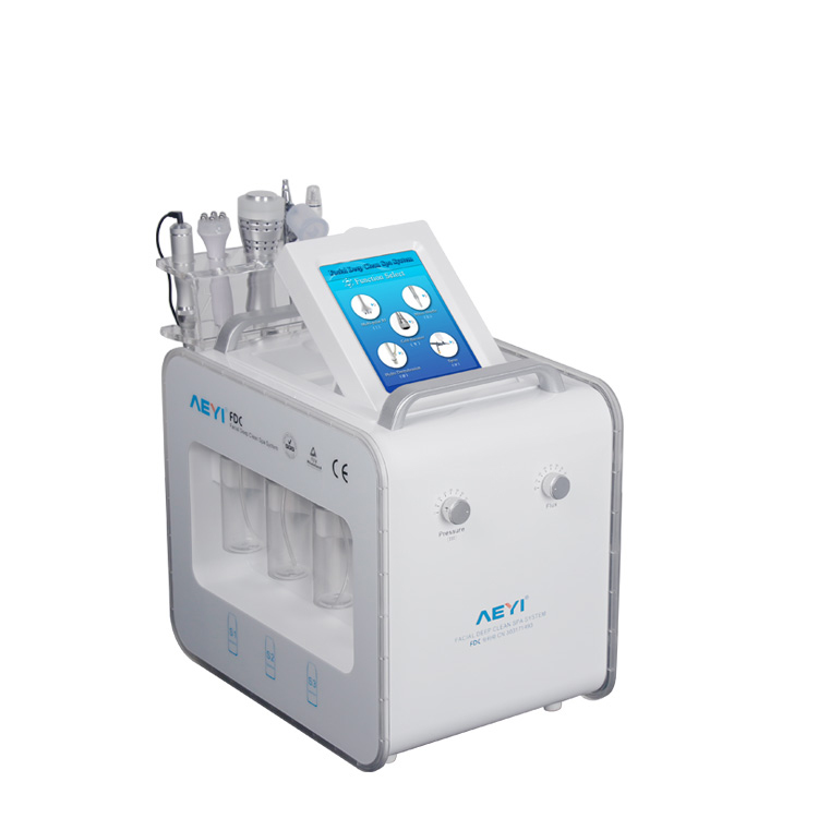 AYJ-X18(CE) 2019 new 6 in 1 silk peel machine hot sale oxygen jet peel machine
