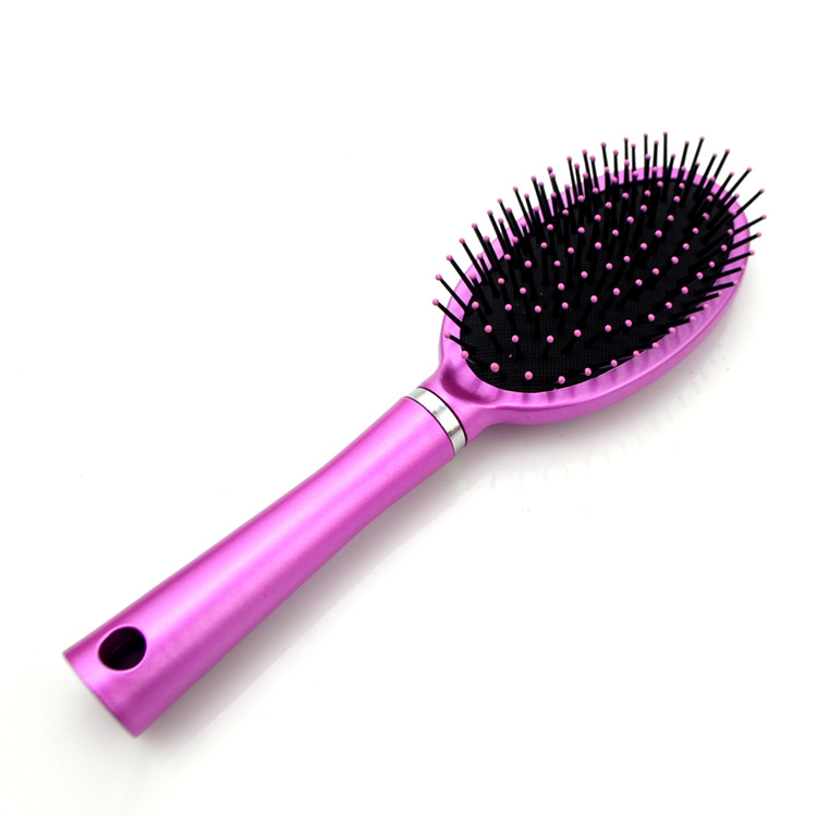 Soft touch craft paddle UV hair brush care kit