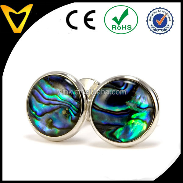 Paua Shell Silver Cufflinks Perfect Gift for Fathers Day, Wedding, Anniversary, Unique Christmas Gifts