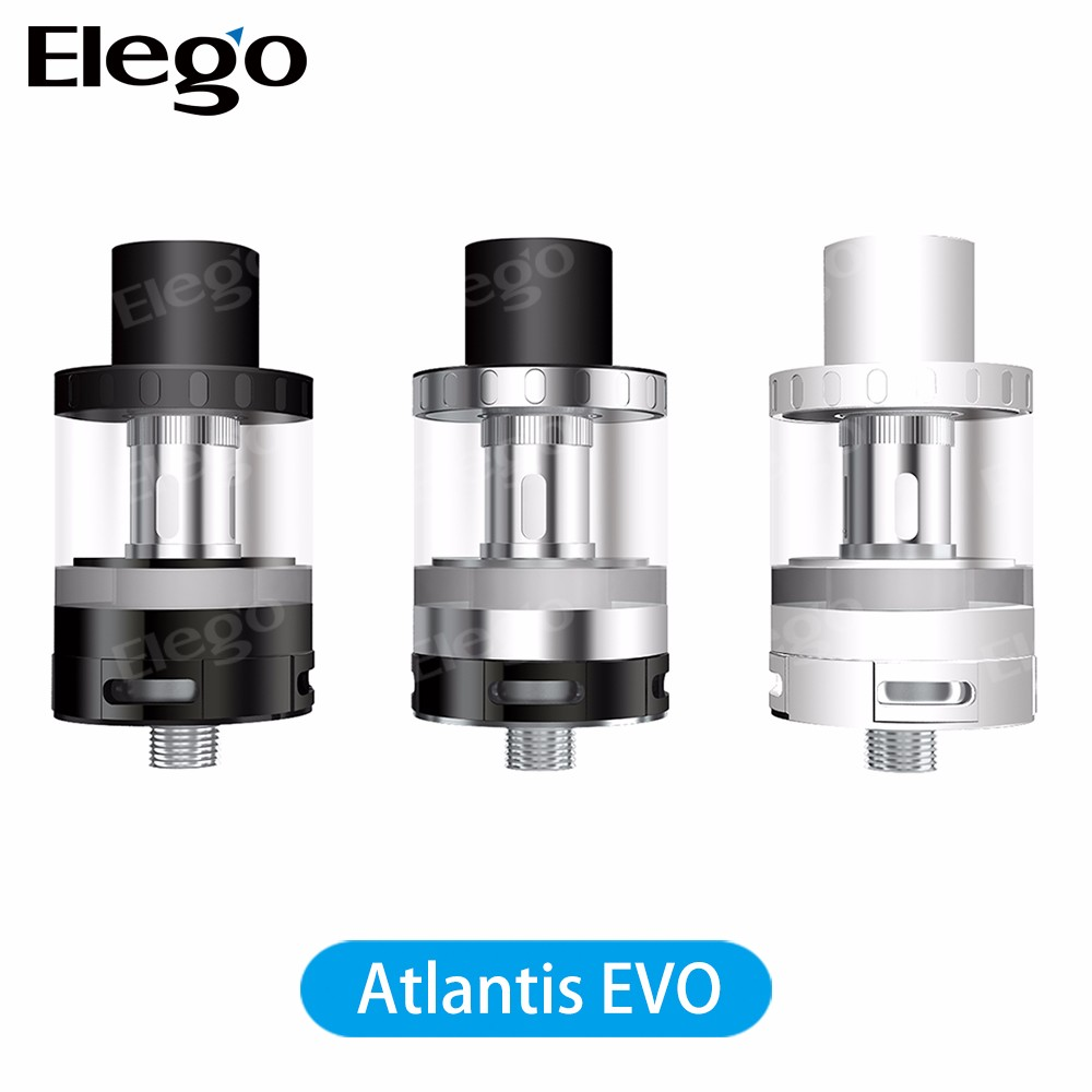 Crazy!! Wholesale top selling aspire atlantis evo 2/4 ml tank with dual clapton coil