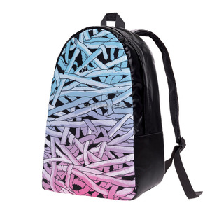 OEM New Design 3D Print Hot Sale Custom Canvas Sublimation Cheap Backpack