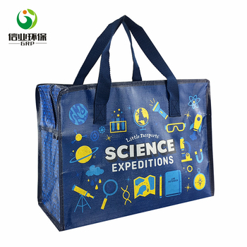2274adeb705306 Cheap Oem Large Pp Woven Reusable Shopping Bags Eco With Zipper ...