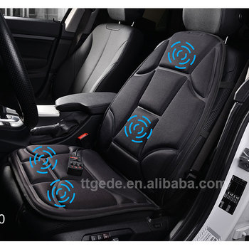 12v Massage Chair For Car Seats Powerful Vibrating Seat Cushion