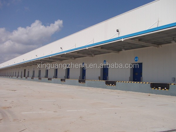 truss prebuilt double slope steel warehouse steel workshop