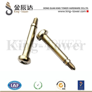 drive shoulder screw\step screw with collar (with ISO card)