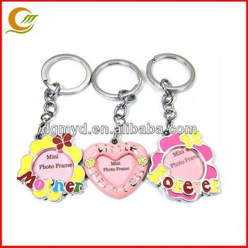 Mini Photo Frames Heart Shaped Pvc Picture Frame With Keychain - Buy ...