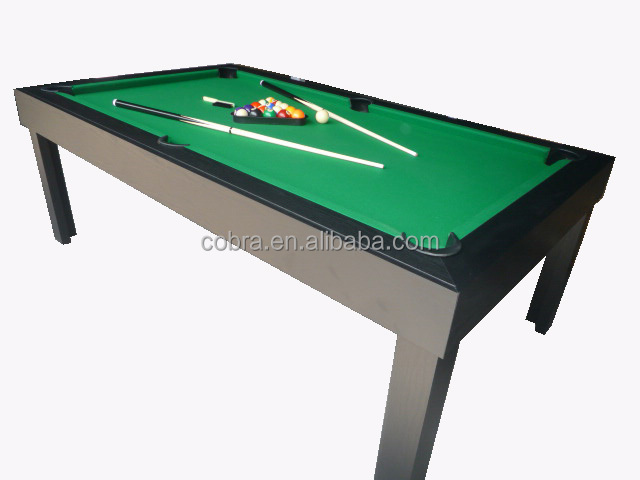Fashionable Slate Dining Pool Table In Dinner Billiard Table - 7 foot dining pool table