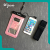 New design clear mobile phone waterproof phone bag for Beach