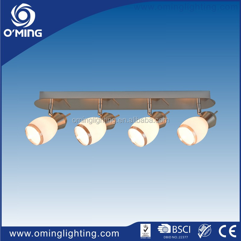 Factory Low Price Suspended 4 Gl Spot Lighting Ceiling Led Lamp Kitchen Light Fixtures