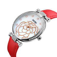 new design fashion girls watch waterproof lady watches oem skmei 9145