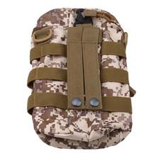 На открытом воздухе Молле сумка для бутылки с водой тактическое снаряжение чайник поясная сумка на плечо для любителей армии Альпинизм Кем...(Китай)