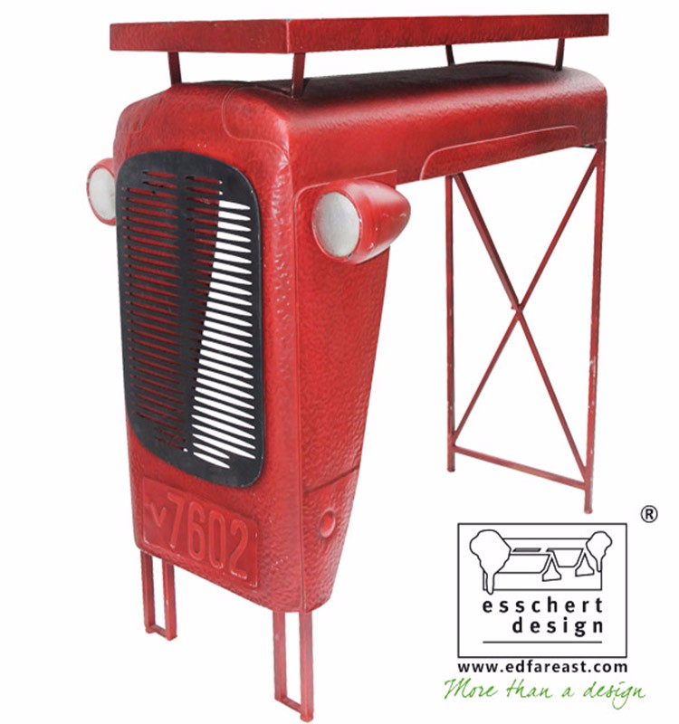 Wholesale Esschert Design Tractor Shaped Metal antique Bar Chair ...