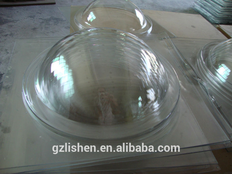 Clear Acrylic Polycarbonate Domes Cover Uv Clear Plastic