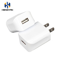 Universal Single Port 5V 1.0A Usa Plug Usb Travel Charger Adapter For Mobile Phone