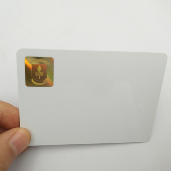 Custom Printing Plastic Business Id Card with Holographic Logo