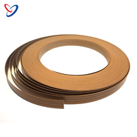 Furniture Accessories Decorative Plastic Flexible Wood Grain Tape PVC Edging