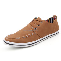 2017 Men brown Color Fashion PU Leather Casual Shoes