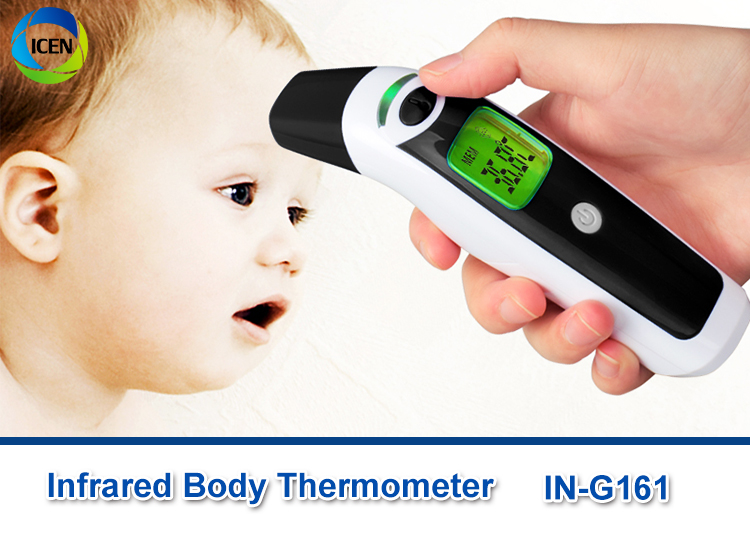 IN-G161 Medical Hospital Household Basal Baby Thermometer Bluetooth Children's Digital Ear And Forehead Thermometer Gun