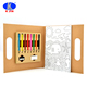 Fashion cute wholesale school stationery set for kids