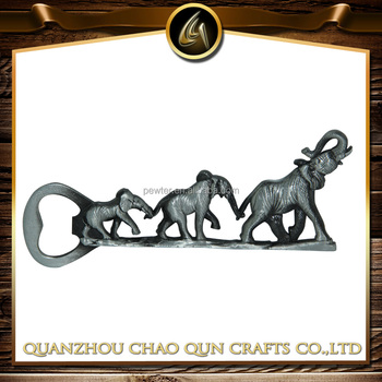metal elephant bottle opener