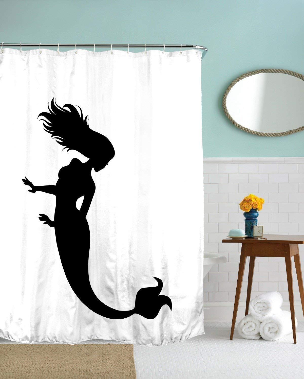 Cheap Mermaid Shower Curtain Cheap Find Mermaid Shower