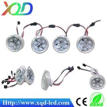 48mm 12volt led light auto control point lighting 6leds led turbo light