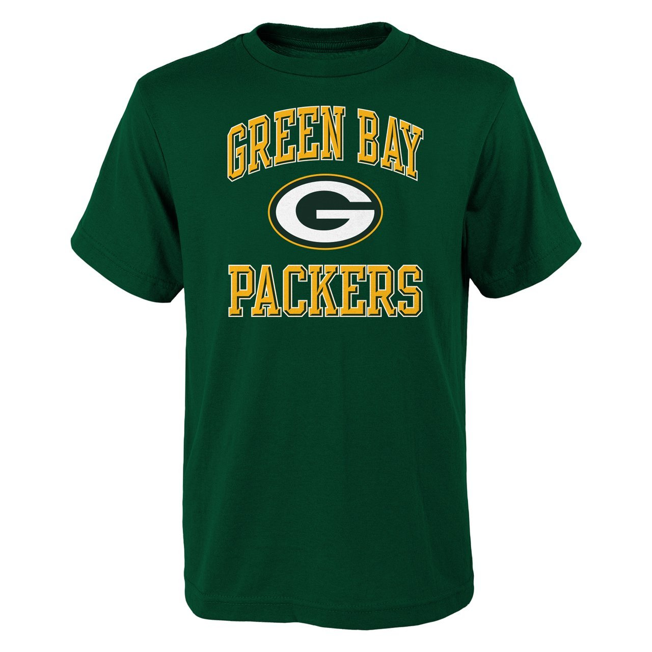 Green Bay Packers Youth Ovation Alternate T-Shirt - Green , Youth Small