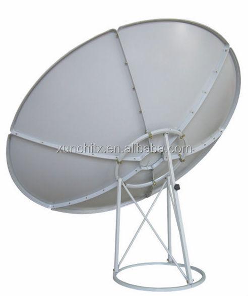 C/ku Band 240cm Satellite Dish Antenna 8 Feet