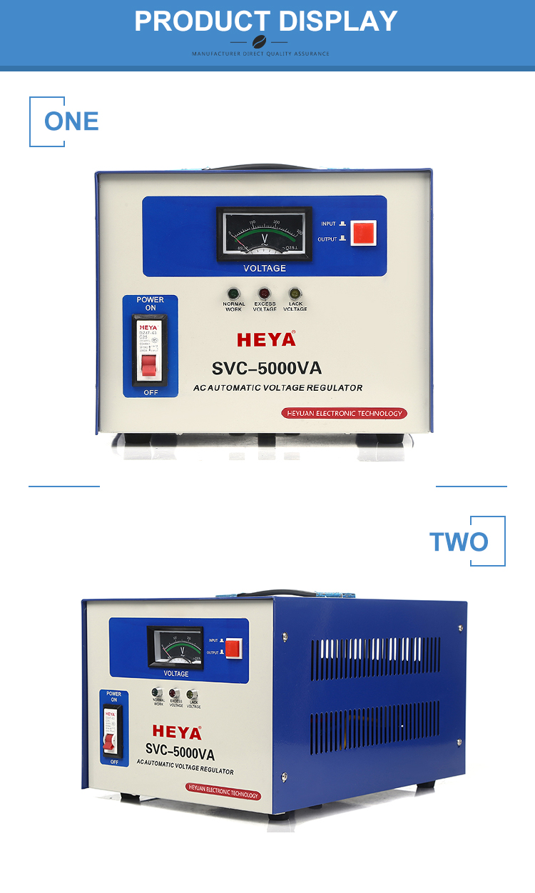 Svc 5kva Single Phase Servo Type Automatic Voltage Regulator/protector For  Alternator - Buy Voltage Regulator,Automatic Voltage Regulator For