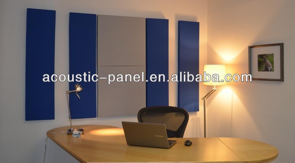 Cubierta de tela de fibra de vidrio paneles de pared ac sticos material de insonorizaci n - Paneles de fibra de vidrio para paredes ...