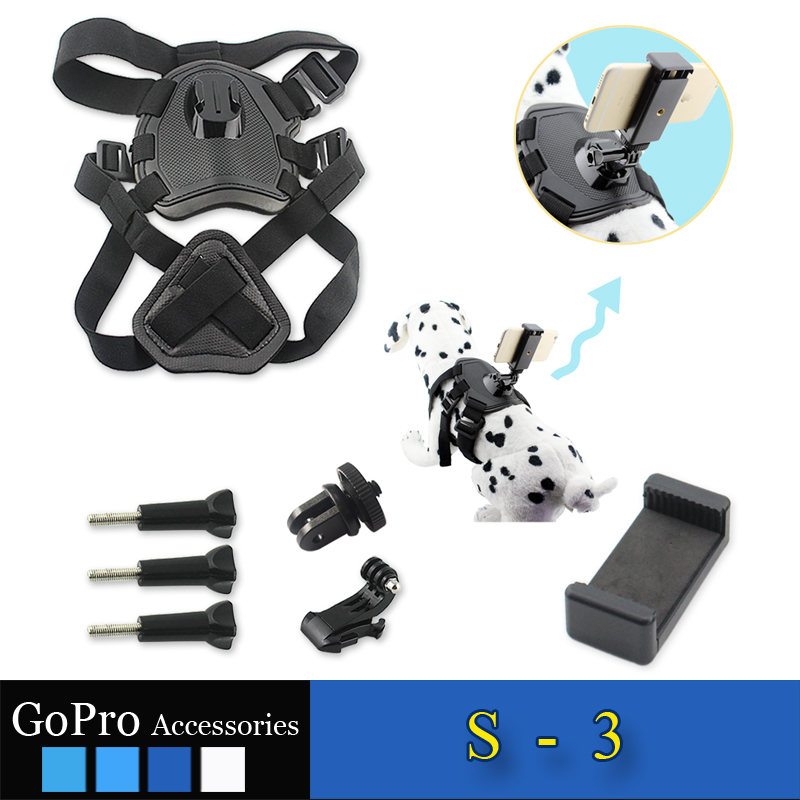 New arrival gopro accessory phone accessories dog harness accessories kit used to connect cellphone
