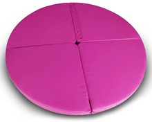 Draagbare Vouwen Floor Circulaire <span class=keywords><strong>Pole</strong></span> Dance Mat Yoga <span class=keywords><strong>Oefening</strong></span> Veiligheid PVC Kussen